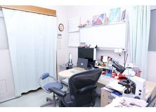診療室です。気になる症状がございましたら、御相談ください。