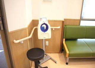 待合室に血圧計を置いています。ご自由にご利用ください。