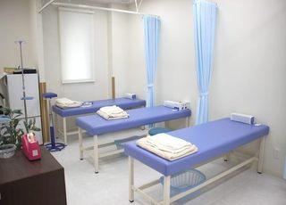 処置室です。注射や点滴、採血などを行います。