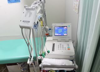 脈拍を測る心電図です