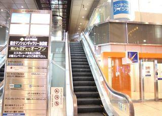 住友池袋駅前ビルのエレベーターを上がって右に曲がると当院です