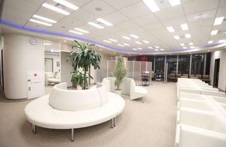 銀座医院の待合室