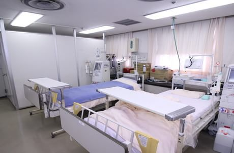 半蔵門病院の病室