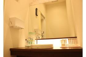 扇町公園皮膚科クリニック 中崎町駅 パウダールームをご用意しておりますの写真