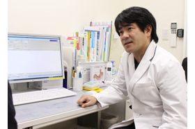 あおき内科クリニック 高井戸駅 患者さまにご自身の病状について納得していただけるよう、わかりやすい説明を心がけておりますの写真