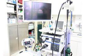 東陽パークサイドクリニック 東陽町駅 内視鏡機器を導入しています。麻酔を受けた後に検査します。の写真