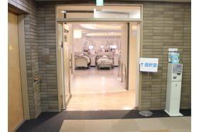自靖会 親水クリニック 船堀駅 介護施設から扉1枚で透析室に行くことができますの写真