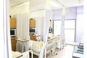 リムズ徳島クリニック 鮎喰駅 院内に入院設備を整えております。の写真